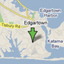 Map of home in Edgartown